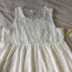 NEW Three Seasons Ivory Lace Maternity Dress